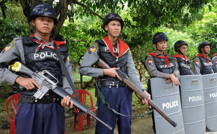 greener police gun burma 1