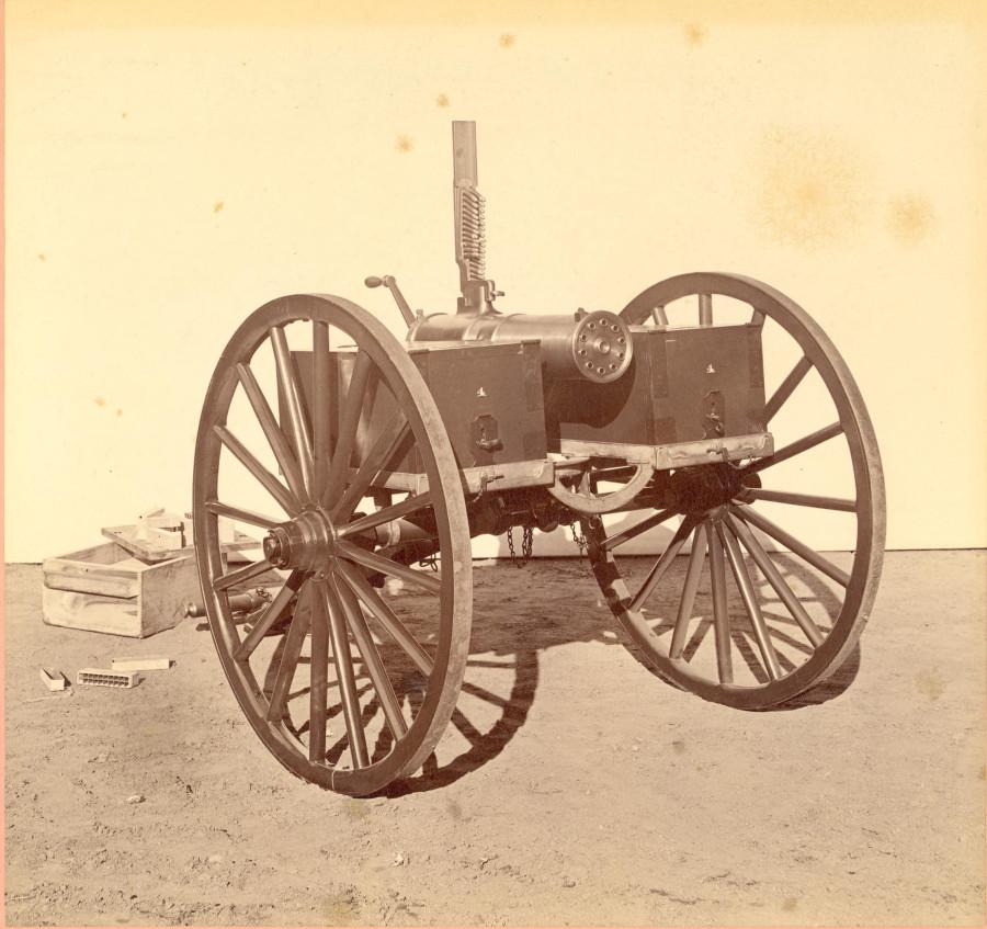 Colt Gatling model 1877 bulldog