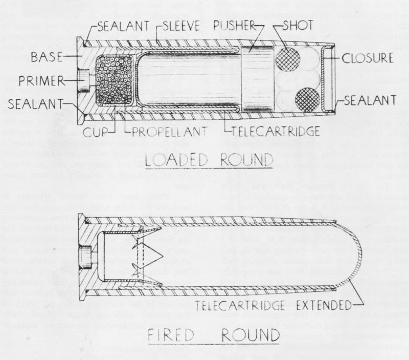 Схема бесшумного патрона 12