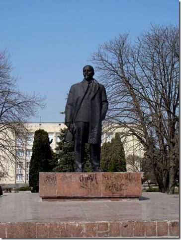 Фастів, пам'ятник Леніну