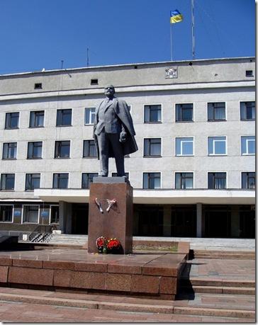Новоград-Волинський, Ленін