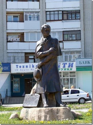 Новоград-Волинський, Тарас Шевченко