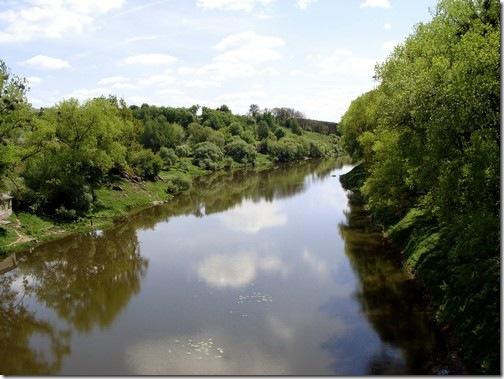 Новоград-Волинський, ріка Случ