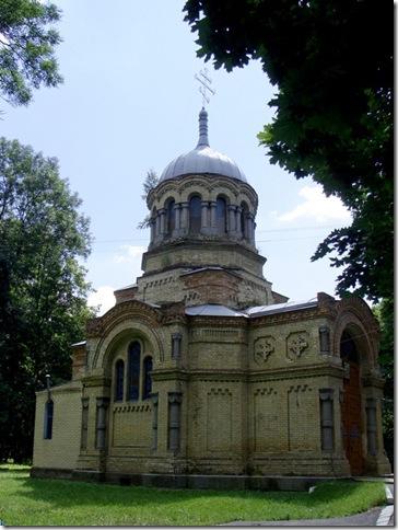 Нова Чортория, церква-усипальня