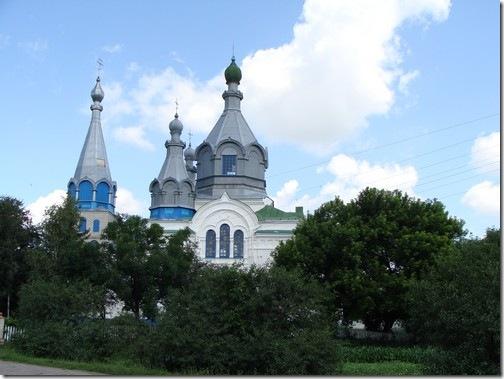 Стара Чортория, храм