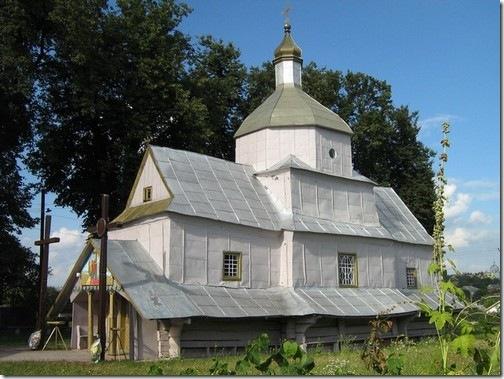 Копичинці, Воздвиженська церква