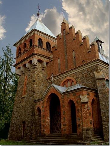 Городківка, костел Святої Клари