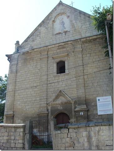 Бережани, вірменський костел