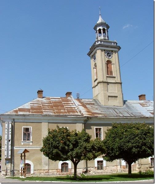 Бережани, ратуша