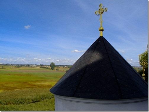 Зимненський Святогірський монастир, купол Троїцької церкви