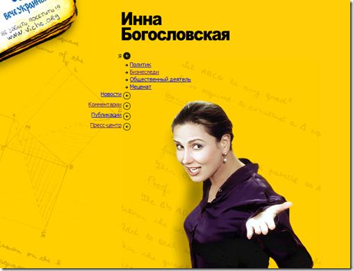 Сайт Богословської