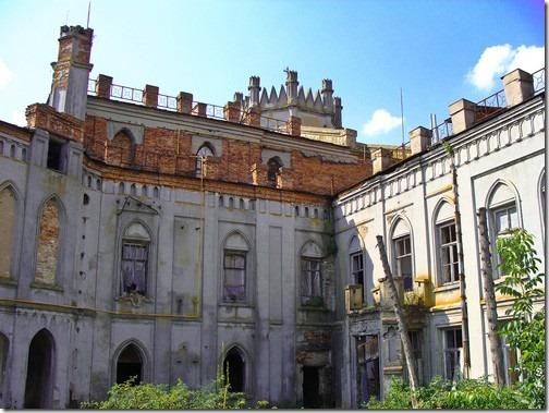 Червоне, палац Грохольських-Терещенків