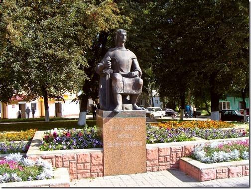 Володимир-Волинський, пам'ятник Данилові Галицькому