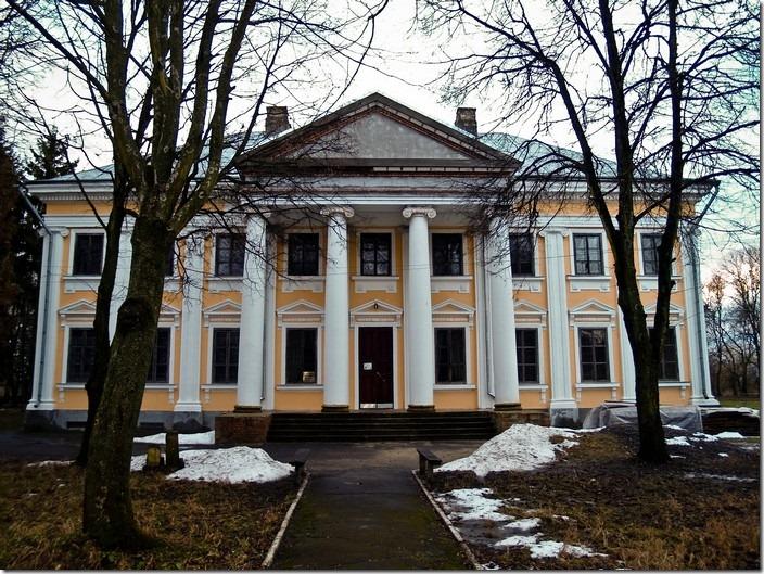 Млинів, палац Ходкевичів