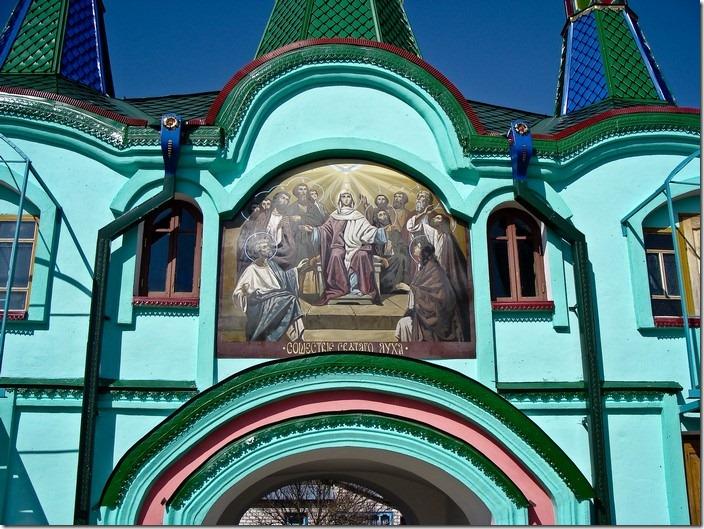 Хрестовоздвиженський монастир, надбрамна вежа