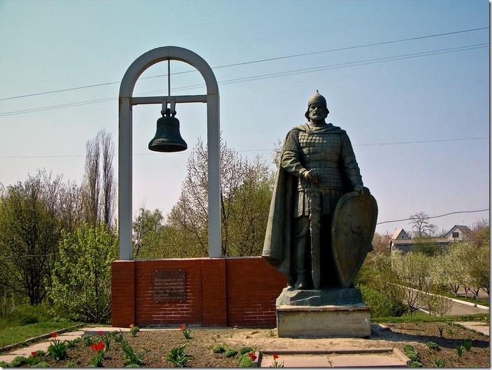 Переяслав-Хмельницький, пам'ятник Володимиру Великому
