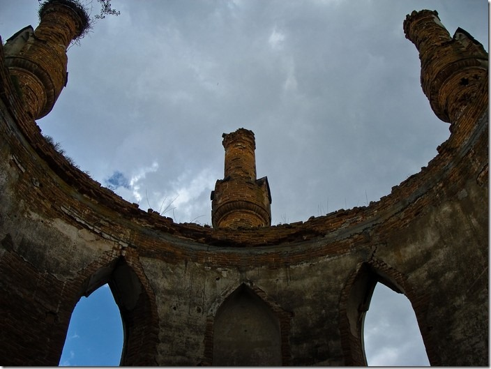 Новомалин, башта-каплиця