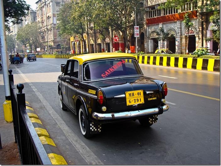 Мумбаї, таксі