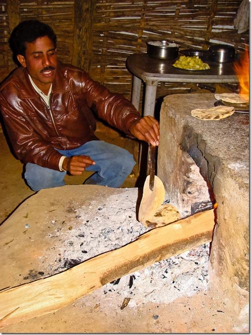 Печеться чапаті