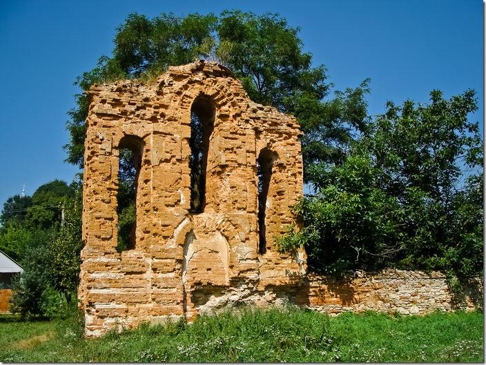 Межирів, дзвіниця костелу
