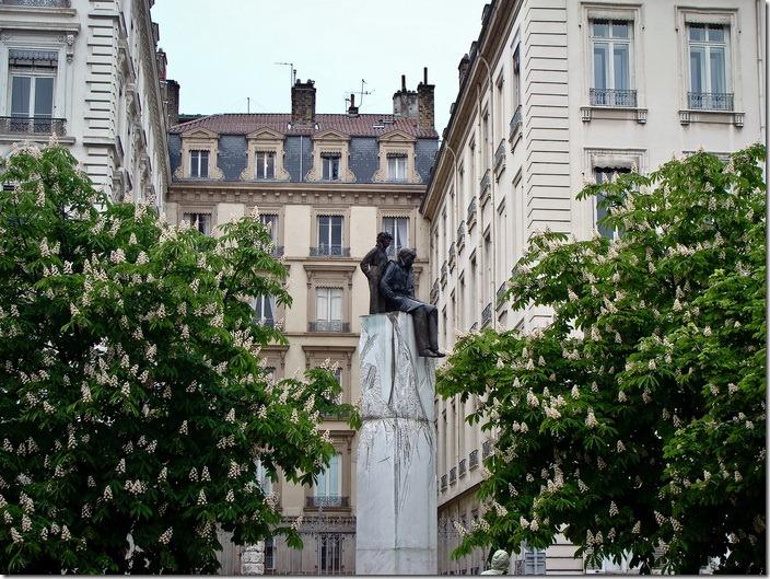 Ліон, пам'ятник Сент-Екзюпері
