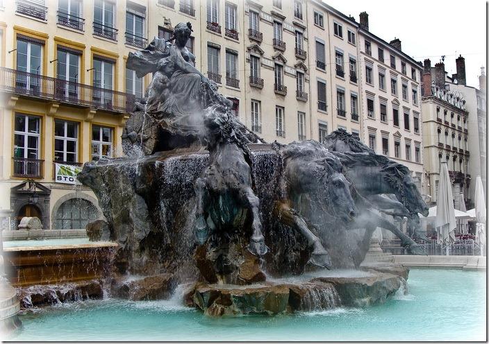 Ліон, фонтан Бартольді