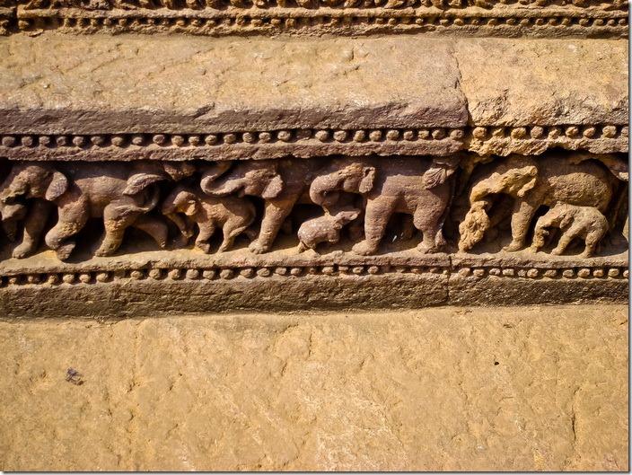 Конарк, храм Сонця, барельєфи