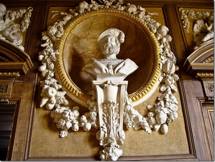 Фонтенбло, замок, галерея Франциска