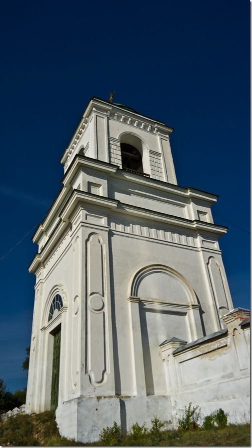 Петрівське, Михайлівська церква, дзвіниця