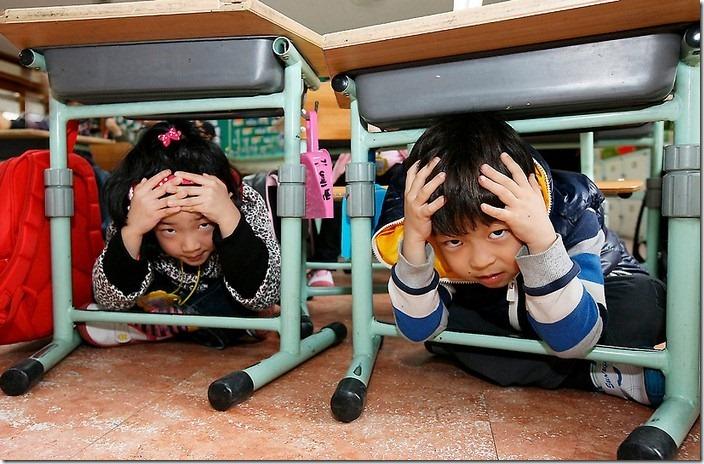 South Korea Japan Earthquake