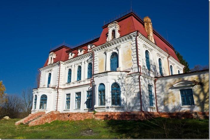 Спичинці, палац Тишкевичів