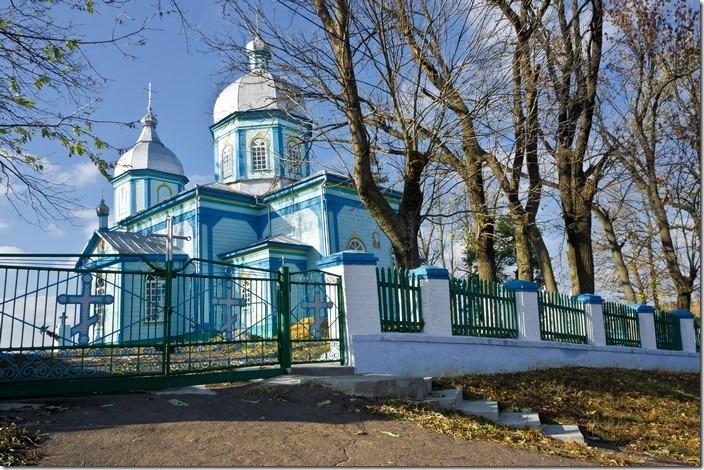 Соколівка. Церква