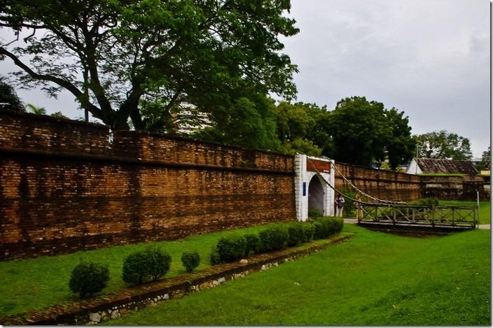 Пенанг, форт