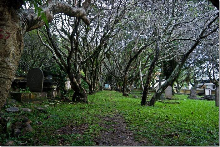 Пенанг, Джорджтаун, протестанський цвинтар