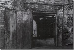 Гвіздець, вхід у молитовний зал синагоги, фото з сайту gvozdets.if.ua