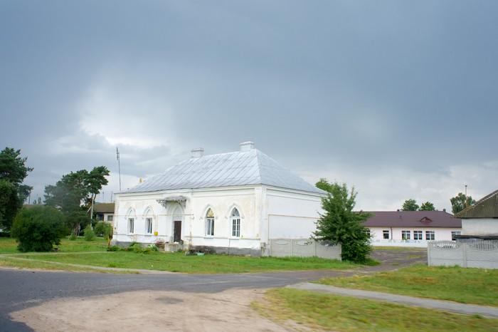 Поштова станція в с. Мухавець (Білорусь)