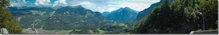 Панорама Рейхенбахський водоспад