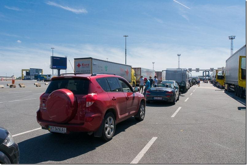 Дорога в Данію