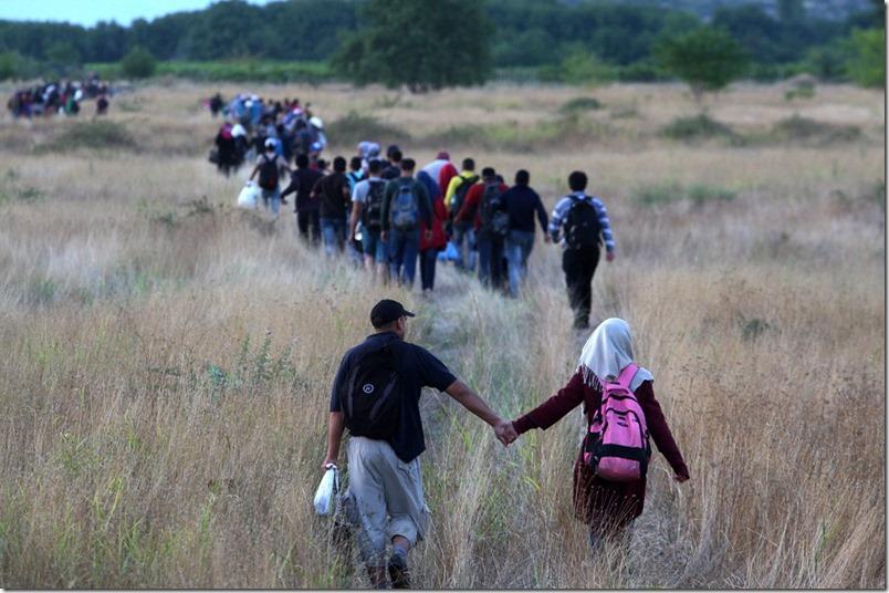 сирійські мігранти