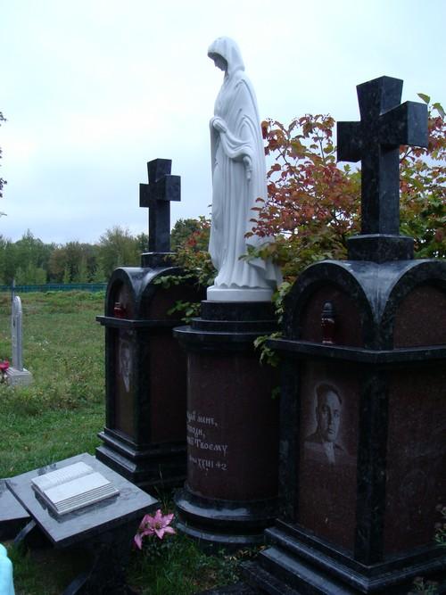 могила мами Ющенка, могила мамы Ющенко