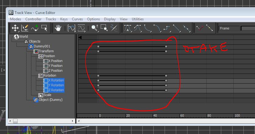 curve editor