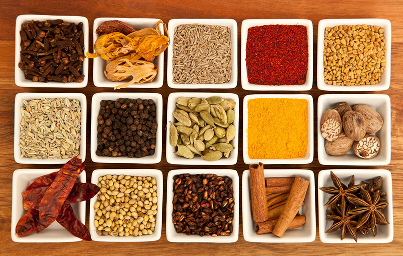 curry mix spices