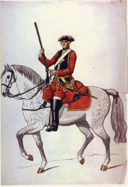 Французские мушкетеры 1622-1775. Часть 4