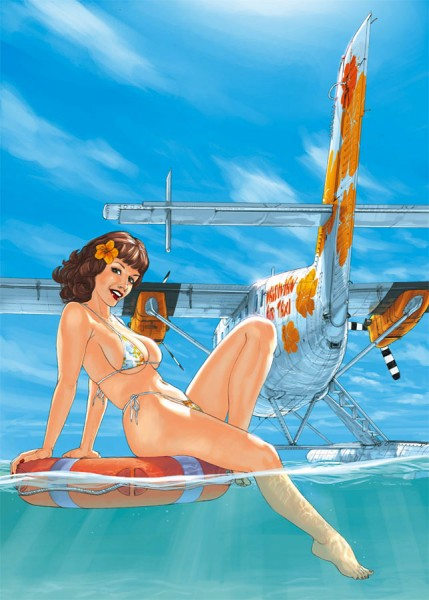 pin-up lagon