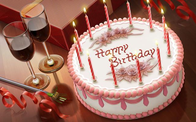 картинки тортов для дня рождений