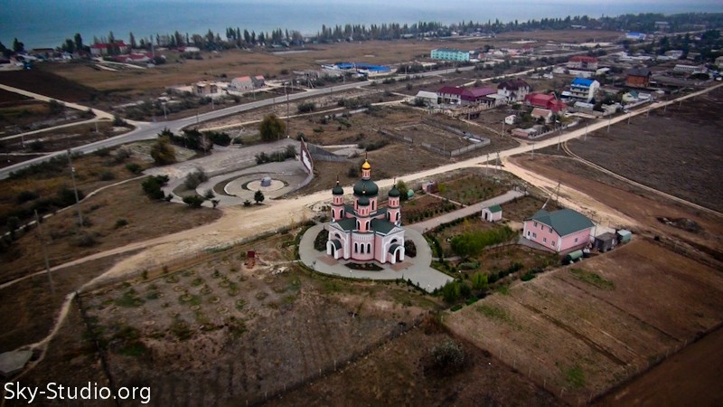 церковь с воздуха