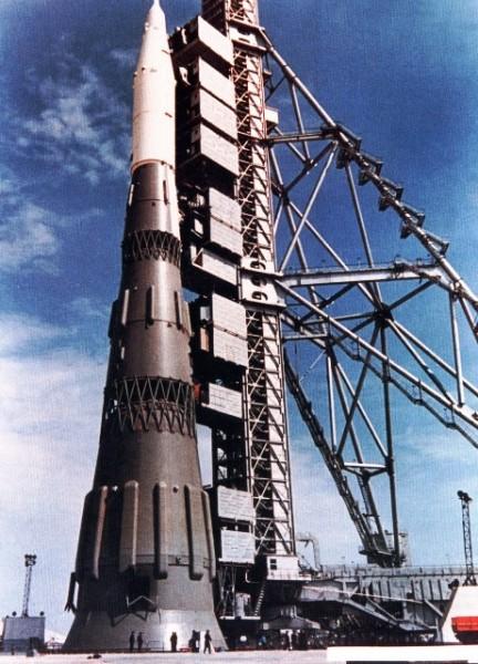 Sergey Korolev's N1 rocket, photo