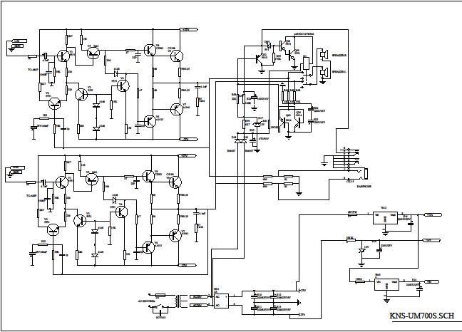 Схема усилителя бочки