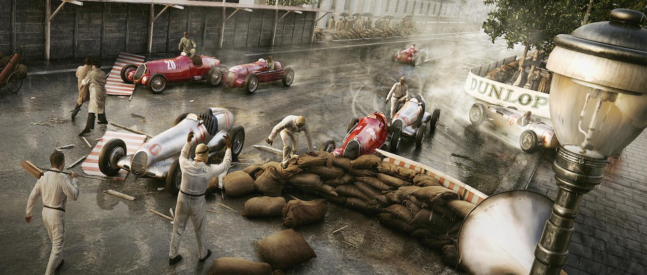 Человек дождя — МОНАКО – 13 Апреля 1936