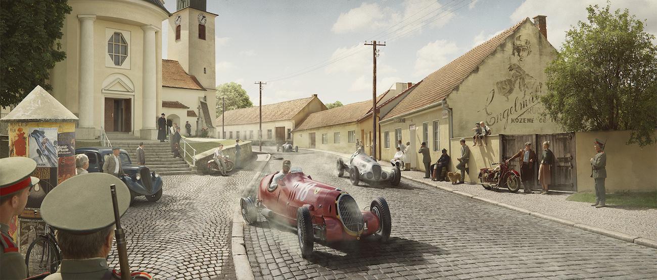 Поломка — BRNO, Чехословакия – 26 Сентября 1937